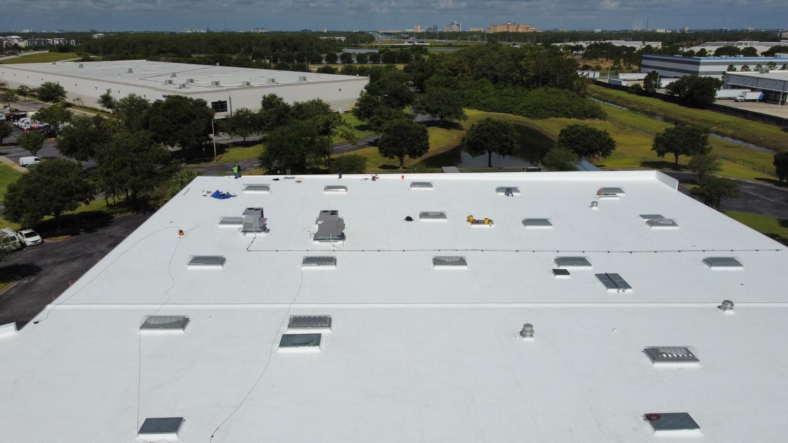 Commercial Roofing contractor in Orlando