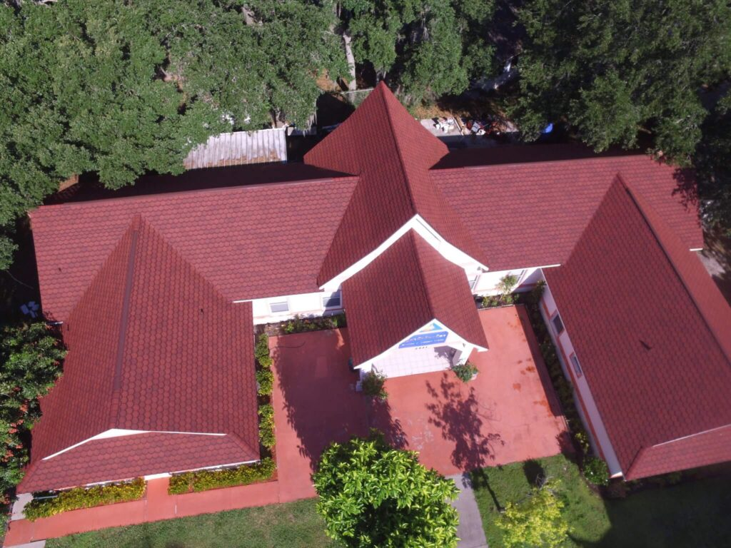 church title roof